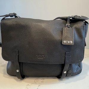 Tumi Leather Messenger Bag - NWOT